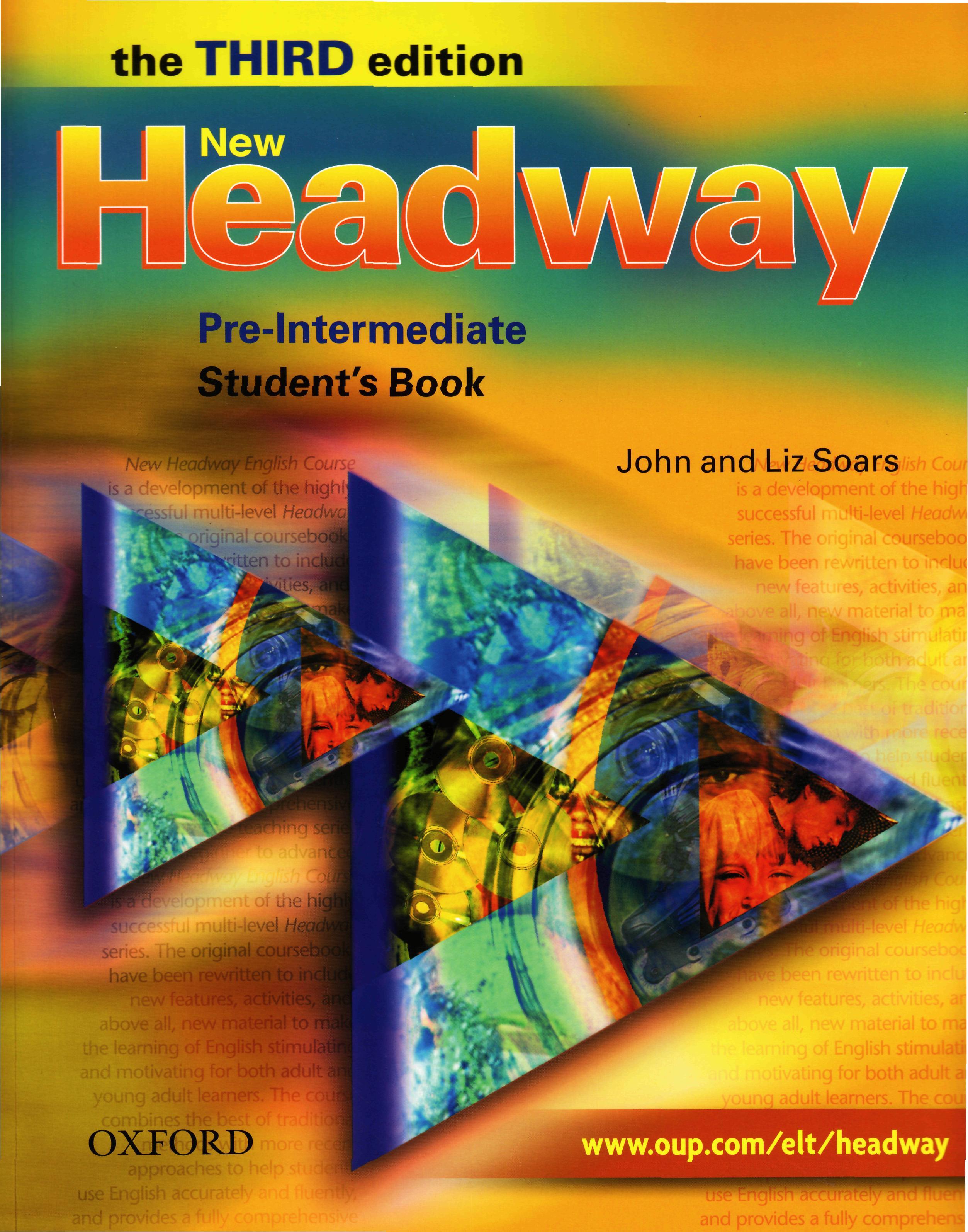 учебник headway pre intermediate new